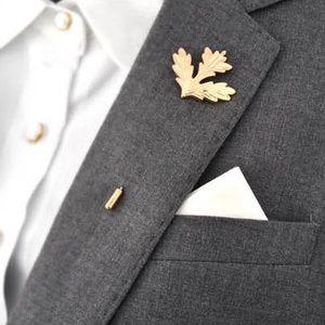 Other - Men's Suit Accessory | Leaf 🍁 lapel pin